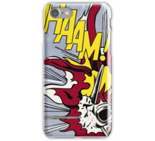 Whaam! - Roy Lichtenstein Print iPhone Case/Skin