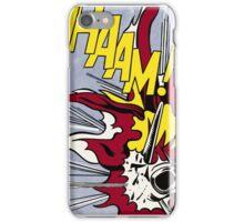 Whaam! - Roy Lichtenstein Print iPhone Case/Skin