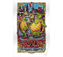 Grateful Dead - Fare Thee Well - 50 years Poster