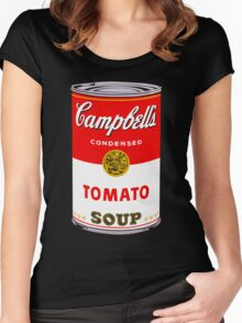 Campbell's Tomato Soup Can - Andy Warhol Women's Fitted Scoop T-Shirt