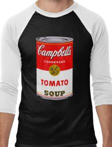 Campbell's Tomato Soup Can - Andy Warhol Men's Baseball ¾ T-Shirt
