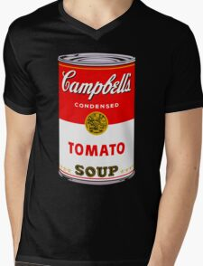 Campbell's Tomato Soup Can - Andy Warhol Mens V-Neck T-Shirt