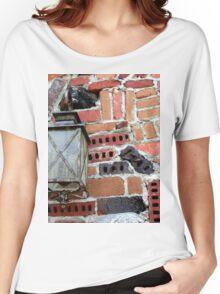 Brick Light Women's Relaxed Fit T-Shirt