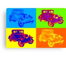 Ford Model A Roadster Pop Art Canvas Print