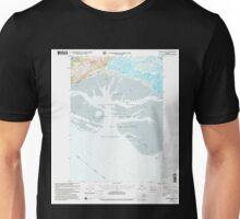 USGS TOPO Map Alaska AK Cordova B-5 355159 2000 63360 Unisex T-Shirt