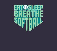 Eat. Sleep. Breathe. Softball. - Sports T shirt Unisex T-Shirt