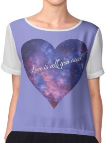 Love is All You Need Chiffon Top