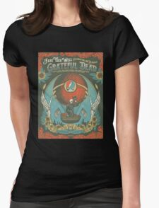 Grateful Dead - Fare Thee Well - 50 years (Number 3) Womens Fitted T-Shirt