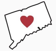 I Love Connecticut by Carolina Swagger