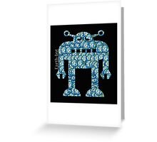 Earth-bot Greeting Card