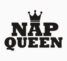 NAP QUEEN CROWN Kids Tee