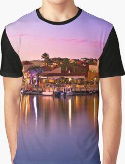 Marina Sunset, Mindarie Marina - Clothing Graphic T-Shirt