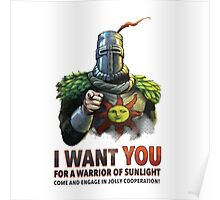 I want YOU for a Warrior of Sunlight Poster