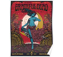 Grateful Dead - Fare Thee Well - 50 years (Number 4) Poster