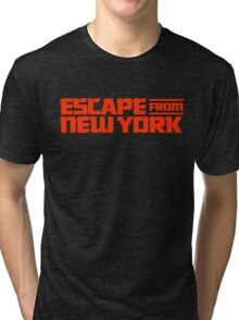 Escape from New York (1981) Movie Tri-blend T-Shirt