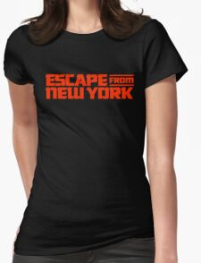 Escape from New York (1981) Movie Womens Fitted T-Shirt
