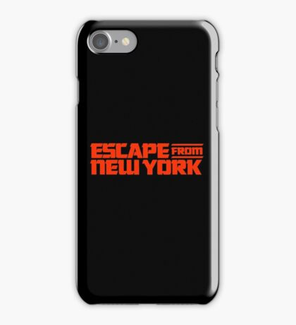 Escape from New York (1981) Movie iPhone Case/Skin