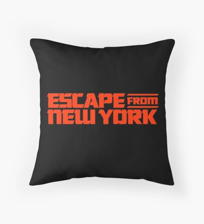 Escape from New York (1981) Movie Throw Pillow