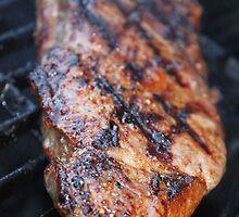 BBQ Steak by Henrik Lehnerer