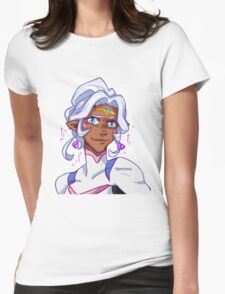 Allura Freckled  Womens Fitted T-Shirt
