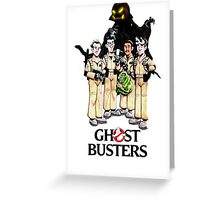 Ghostbuster the movie Greeting Card