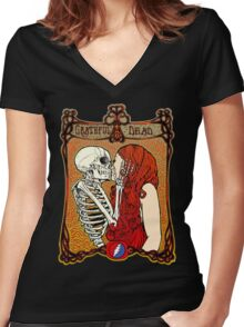 Grateful Dead - They Love Each Other Women's Fitted V-Neck T-Shirt