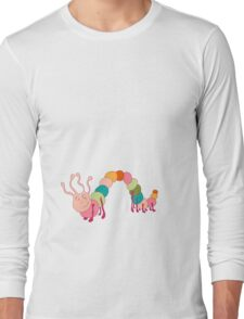 Fun caterpillar Long Sleeve T-Shirt