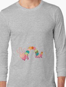 Fun caterpillar Long Sleeve T-Shirt