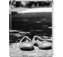 Lonely Shoes in Black & White iPad Case/Skin