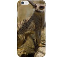 Cute Meerkat iPhone Case/Skin