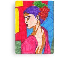 Painted Ladies - #1 Canvas Print