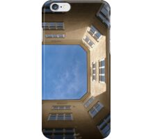 Courtyard looking up iPhone Case/Skin