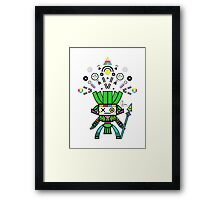 Pop Warrior Framed Print