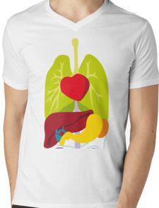 Show u my inner Mens V-Neck T-Shirt