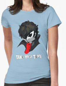 Persona 5 Take Your Time Womens Fitted T-Shirt