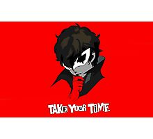 Persona 5 Take Your Time Photographic Print