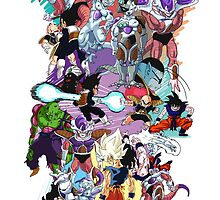 Frieza Saga by Christopher Troyer