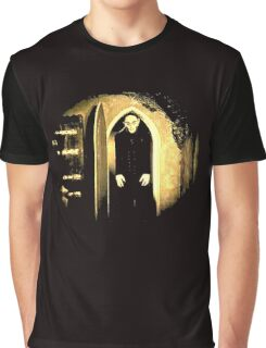 Black Nosferatu 2 Graphic T-Shirt