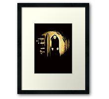 Black Nosferatu 2 Framed Print