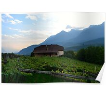 Vineyard Villa Poster