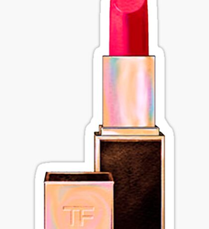TF Lipstick #PINk Sticker