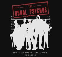 The Usual Psychos by JuggerNERD