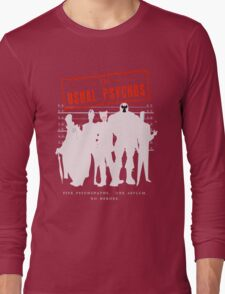 The Usual Psychos Long Sleeve T-Shirt