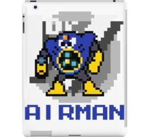 Airman with text (Blue) iPad Case/Skin
