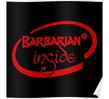 Barbarian Inside Poster