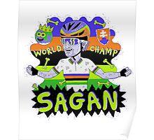 SAGAN , Tourminator t shirt Poster