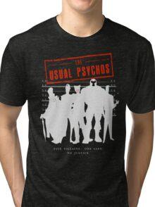 The Usual Psychos (Variant) Tri-blend T-Shirt