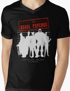 The Usual Psychos (Variant) Mens V-Neck T-Shirt