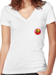 Surf  Women's Fitted V-Neck T-Shirt