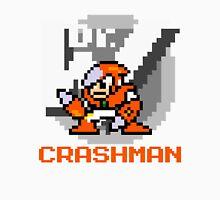 Crashman with text (Orange) Unisex T-Shirt